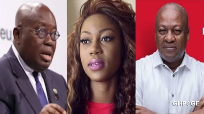 Afia Schwarzenegger threatens to expose East-Legon businessman who is chasing her friend's wife