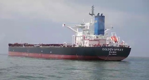 Takoradi Port receives historic vessel, Golden Spray
